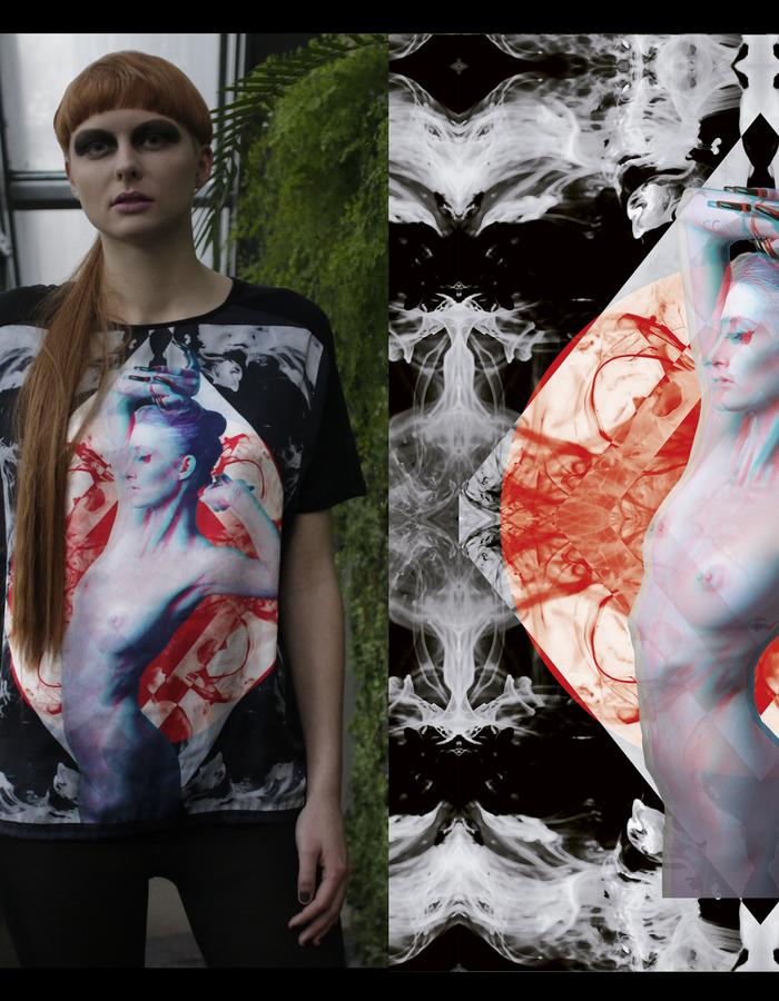 ARA 3D SILK AND PIMA COTTON T SHIRT BEAUTY HAS TO SUFFER COLLECTION