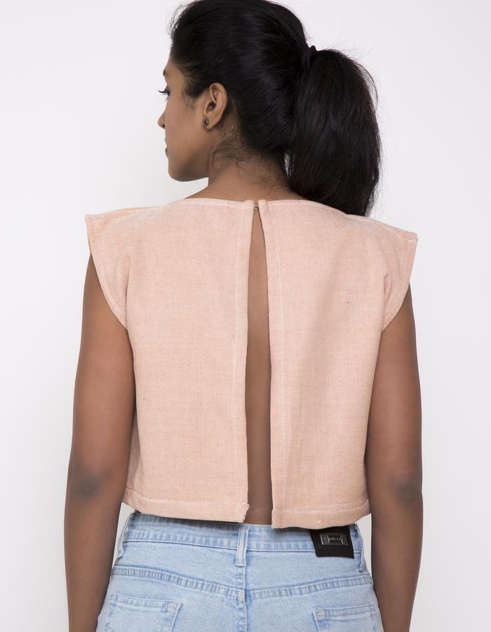 SLIT CROP TOP_BACK