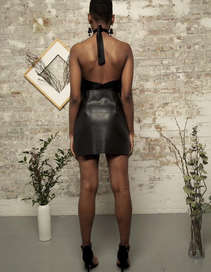 Lonseluet Leather Skirt