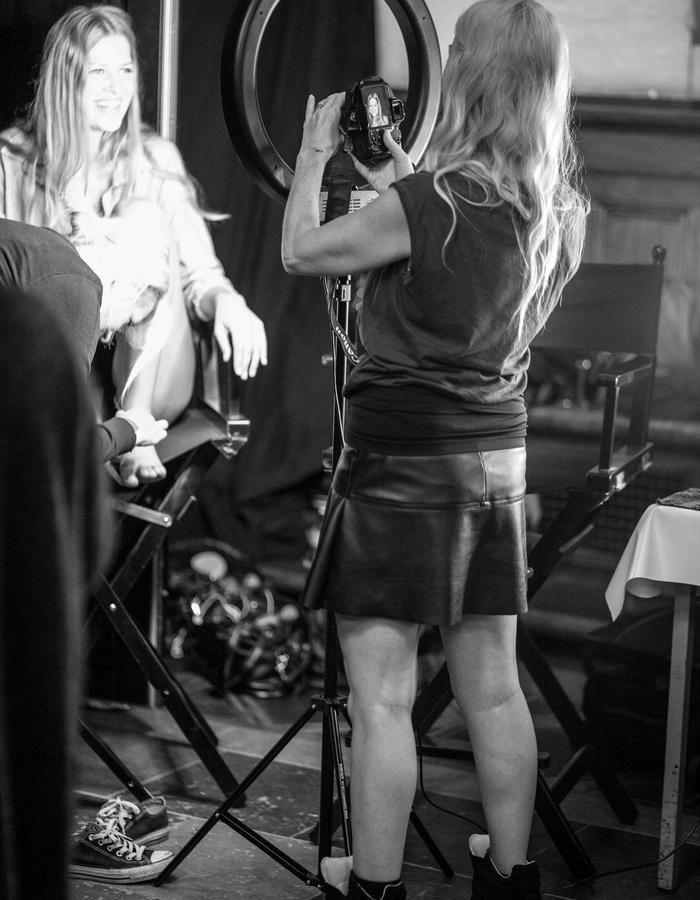StineLadefoged SS15 Backstage