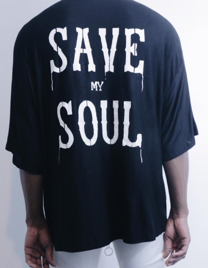 Mercy 'Save My Soul' Jersey Tee Back