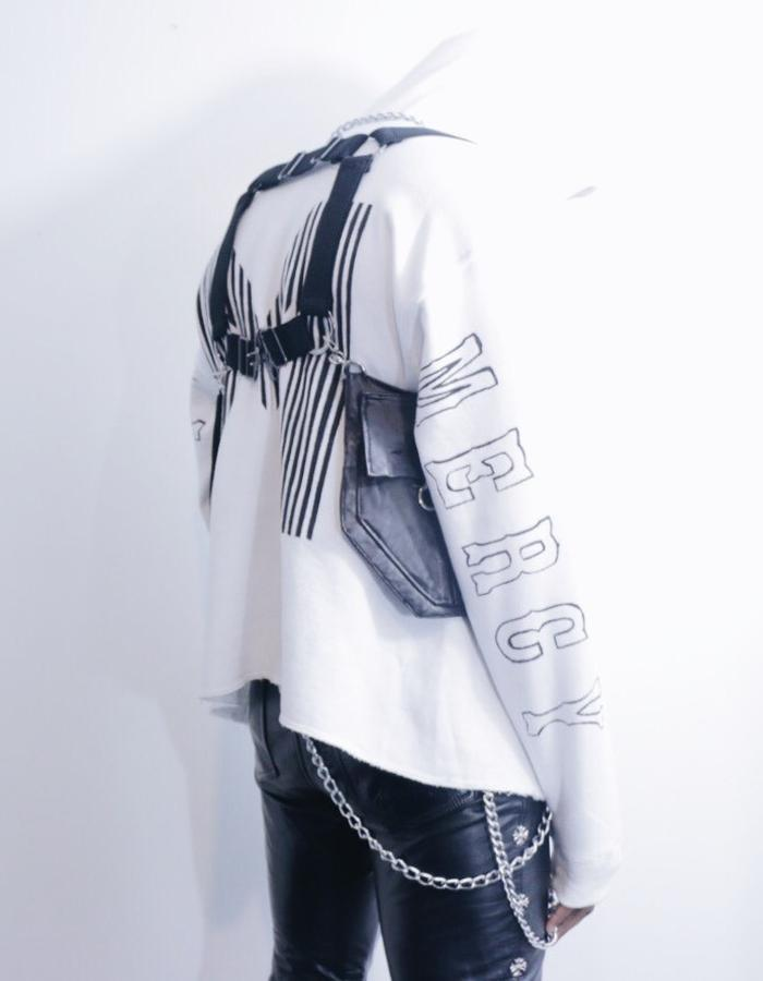 Mercy Hoodie x Rodeo Vest x Leather Pants