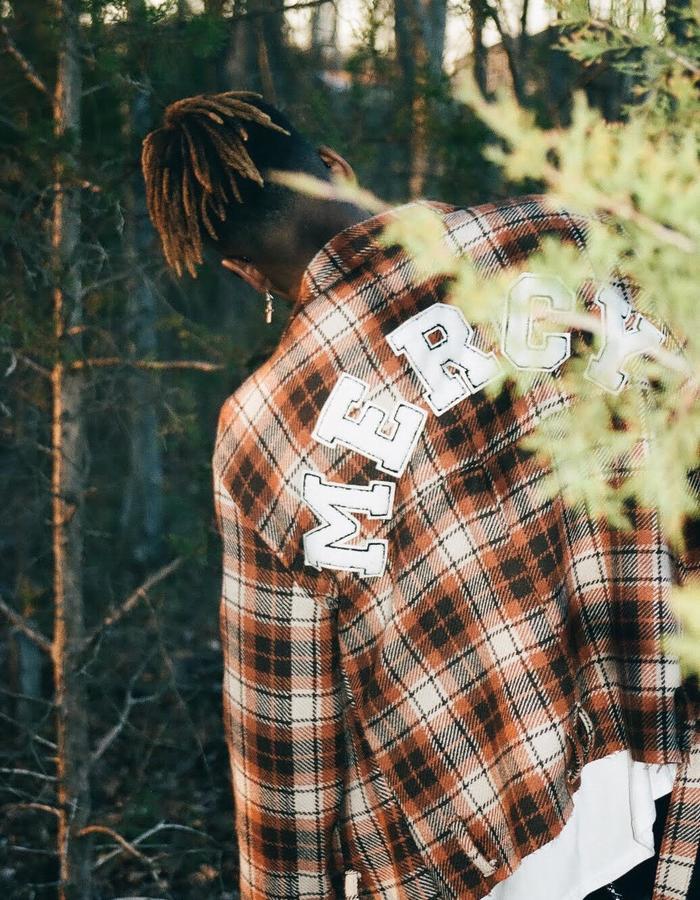 Mercy Plaid Crop Jacket