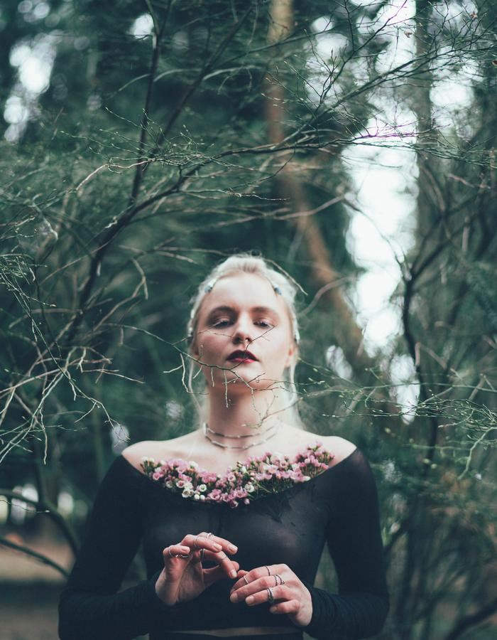 Birds N Bones Jewelry Not Just A Label Dark Forest Nymph