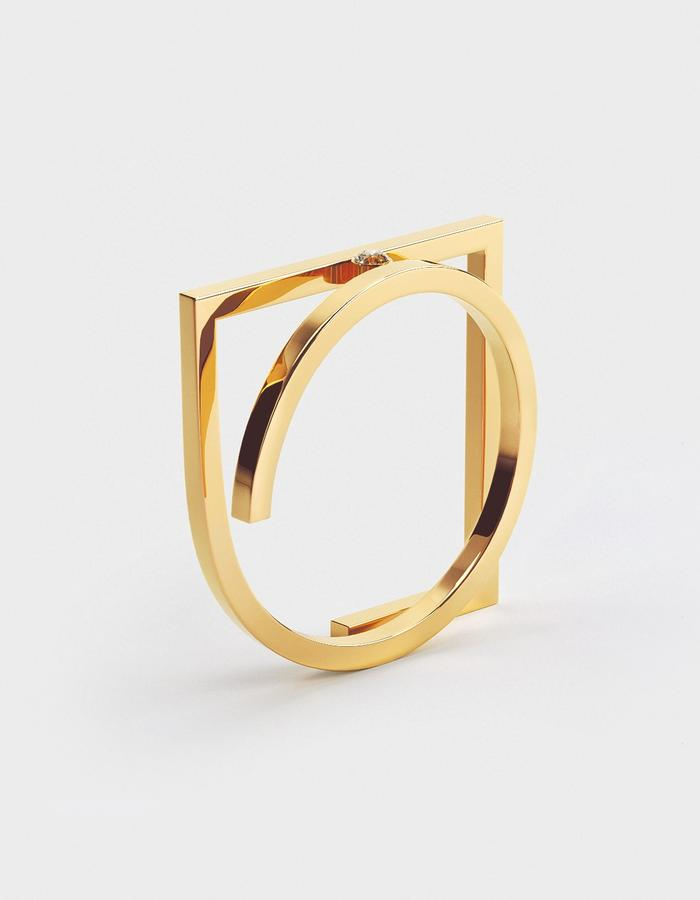 GOLD DOODLE, RING