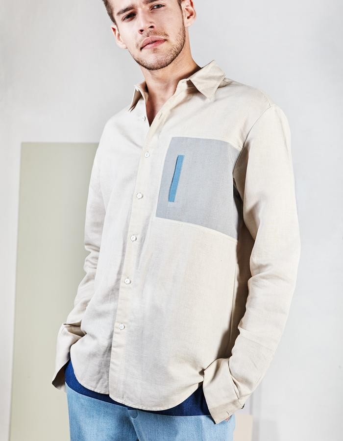 Vertical packet shirt