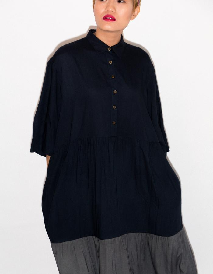 Oversized up-cycled dress