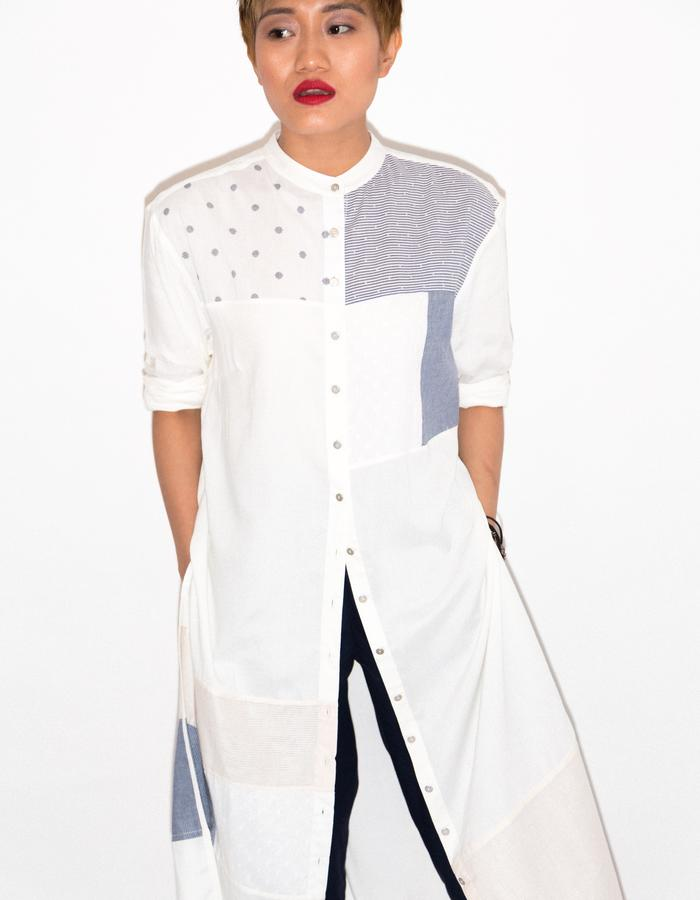 All patch tunic