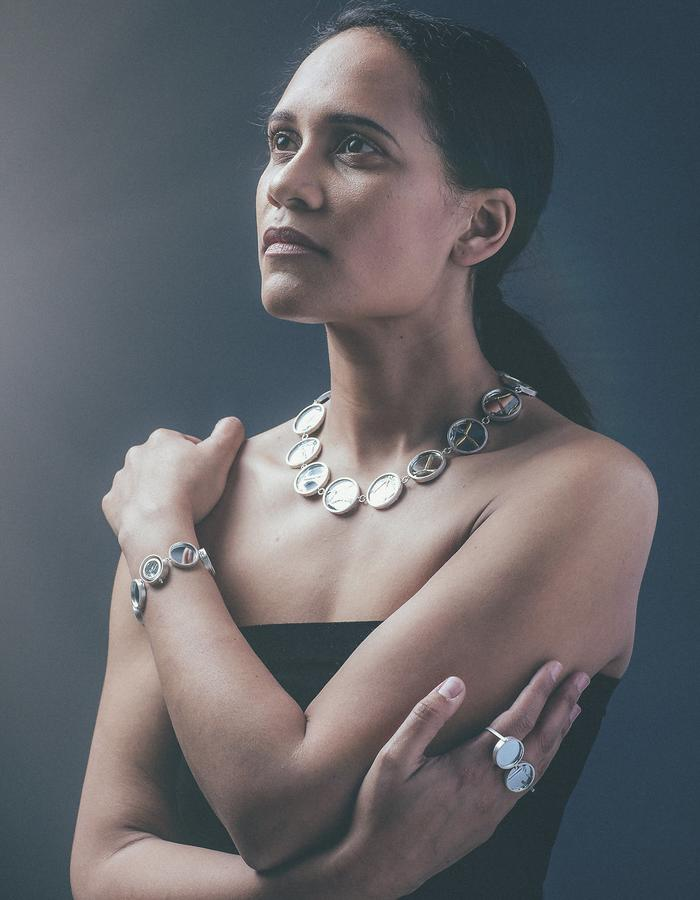 Healing process necklace, Just me? bracelet, I'm fine ring