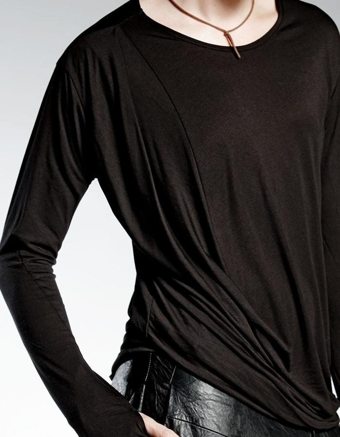 MAN'S BLOUSE WITH PLEATS