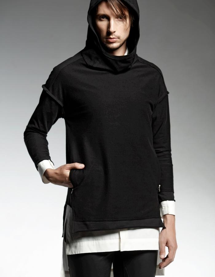 JOGGING T-SHIRT WITH DROPPED SHOULDERS