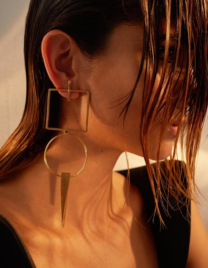 Deca earrings