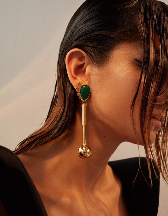 Spartacus earrings