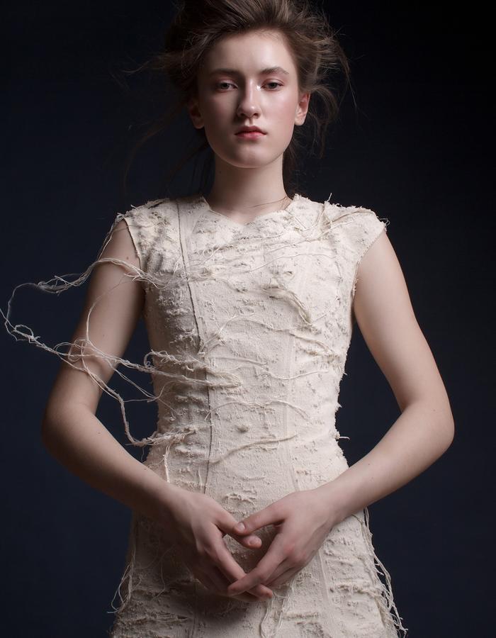 Olya Kosterina | New Elegant Denim Dress