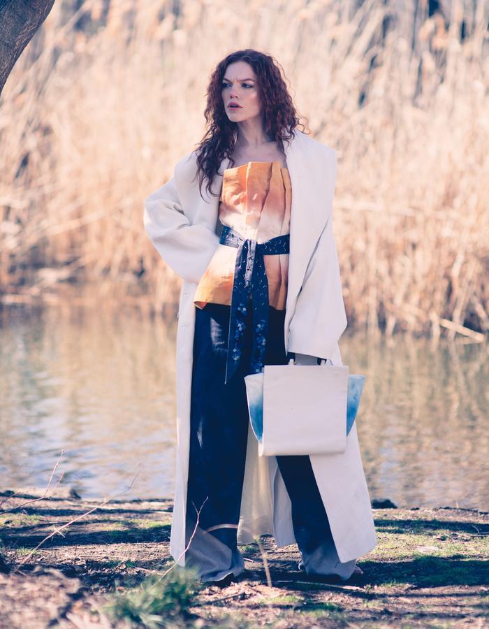 Look 5, Elegant Sustainable Clothes , Hemp Coat