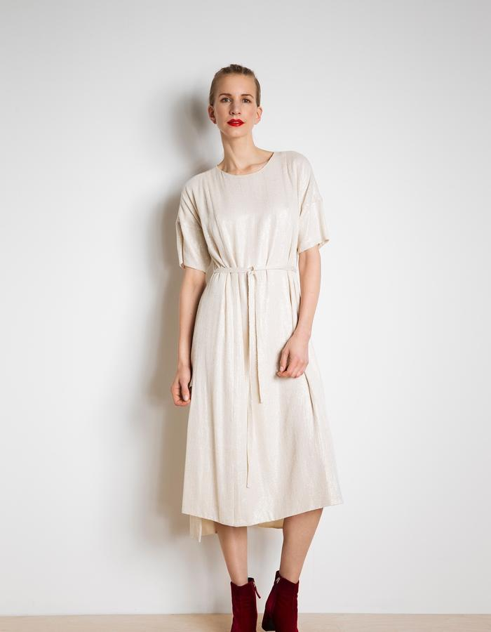 Day dress in silk sequince