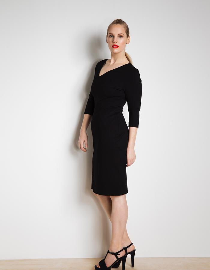LBD Workday customised in knee length and 3/4 sleeves