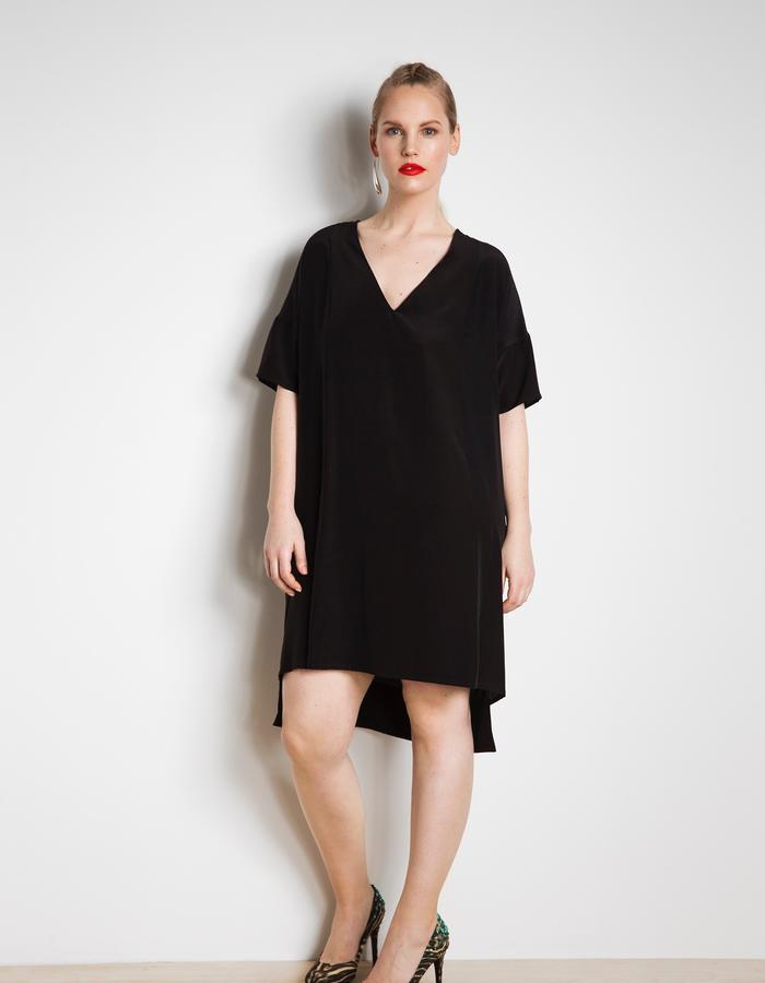 Day dress customised as LBD