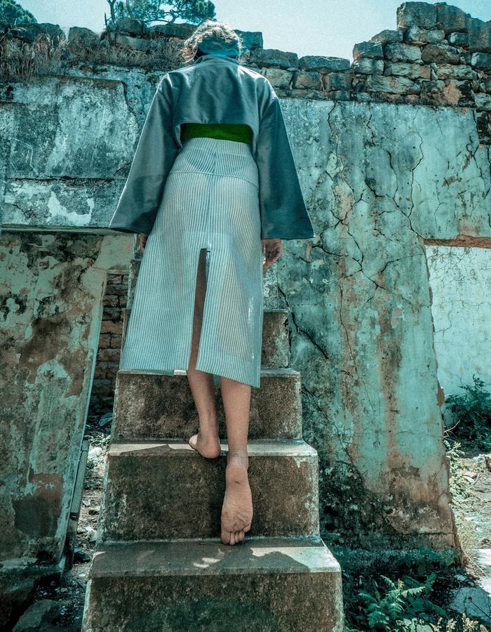 Conceptual fashion design and print design