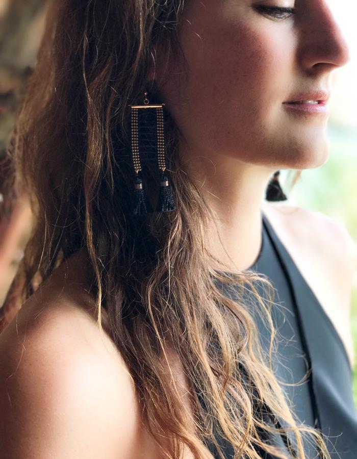Opium earrings