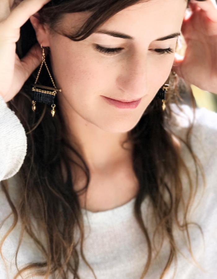 Kabak earrings