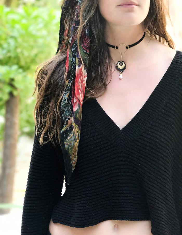 Artillery necklace