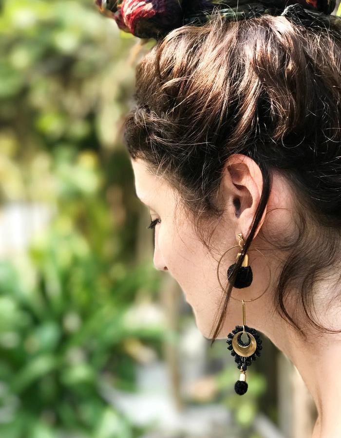 Artillery earrings