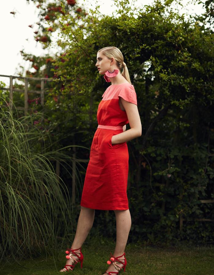 Zoe Carol Spring Summer Alix Red Dress