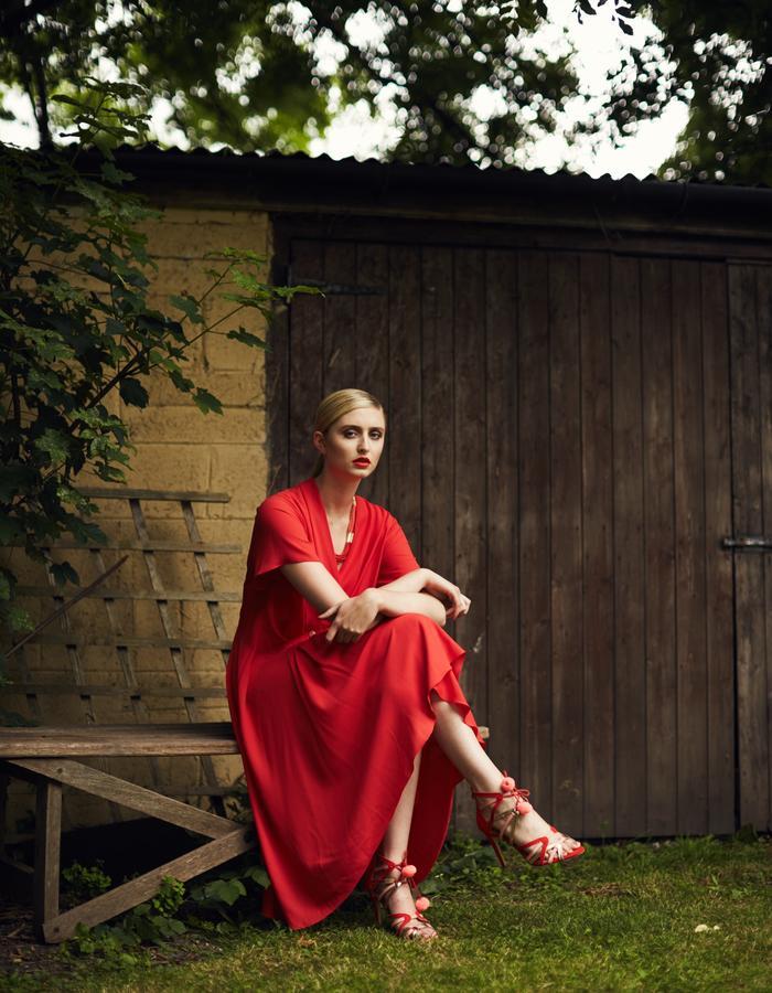 Zoe Carol Spring Summer Yolande Red Dress