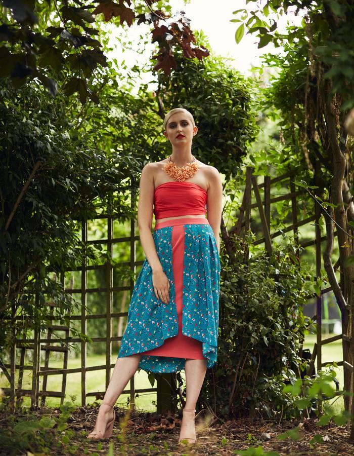 Zoe Carol Spring Summer Odette Pink Print Dress