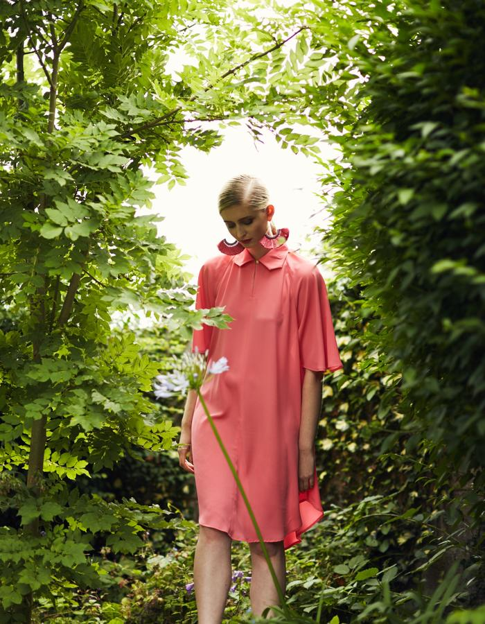 Zoe Carol Spring Summer Zofia Pink Shirt Dress