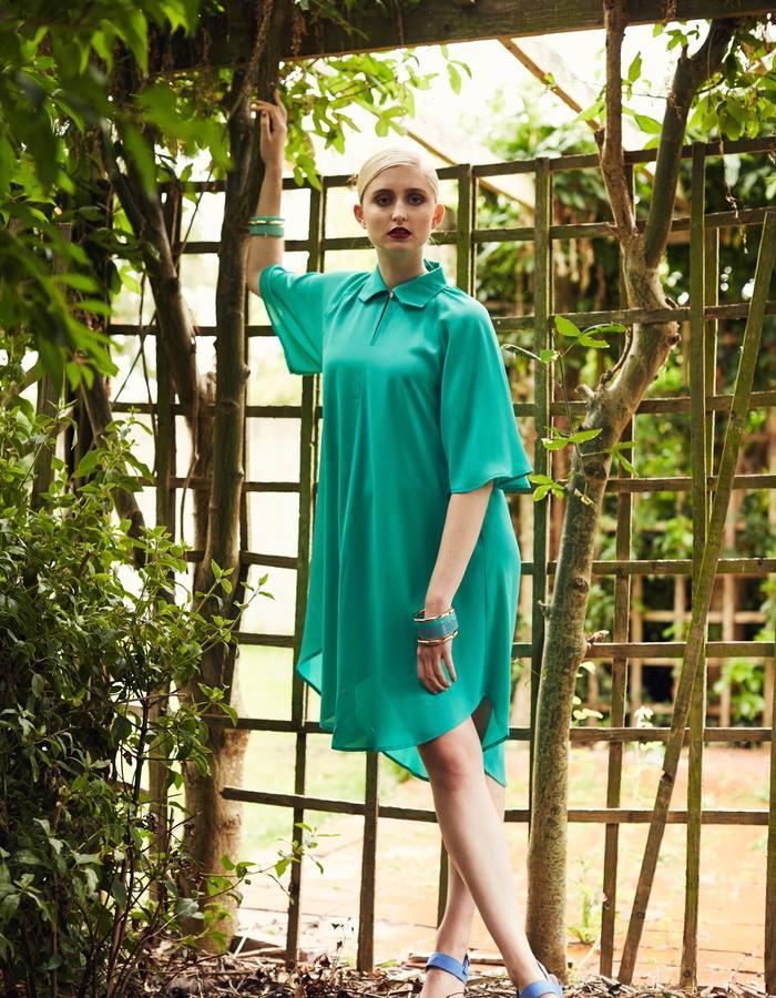 Zoe Carol Spring Summer Zofia Mint Green Shirt Dress