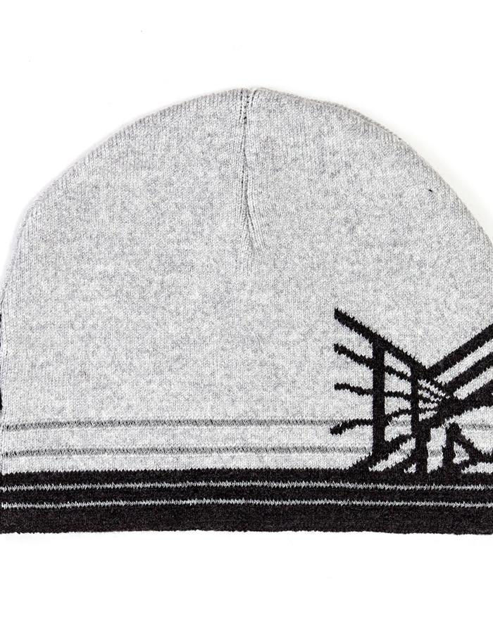 Merino Wool Hat with Reflective Stripes, NYC Edition Brompton X Vespertine