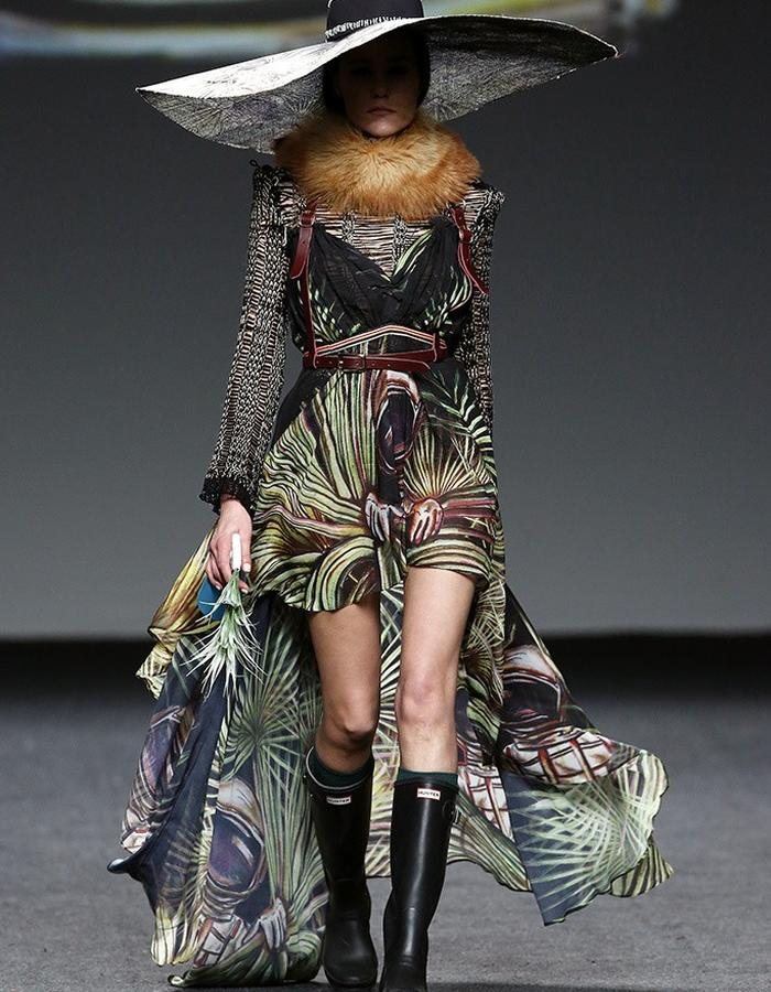 Amai Rodriguez in Madrid Fashion Week