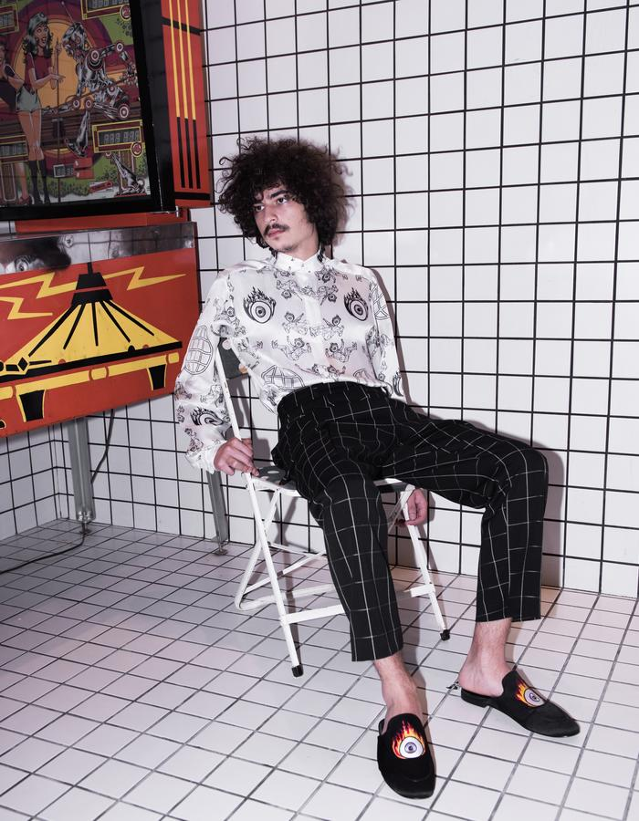 shoes print menswear tailoring
