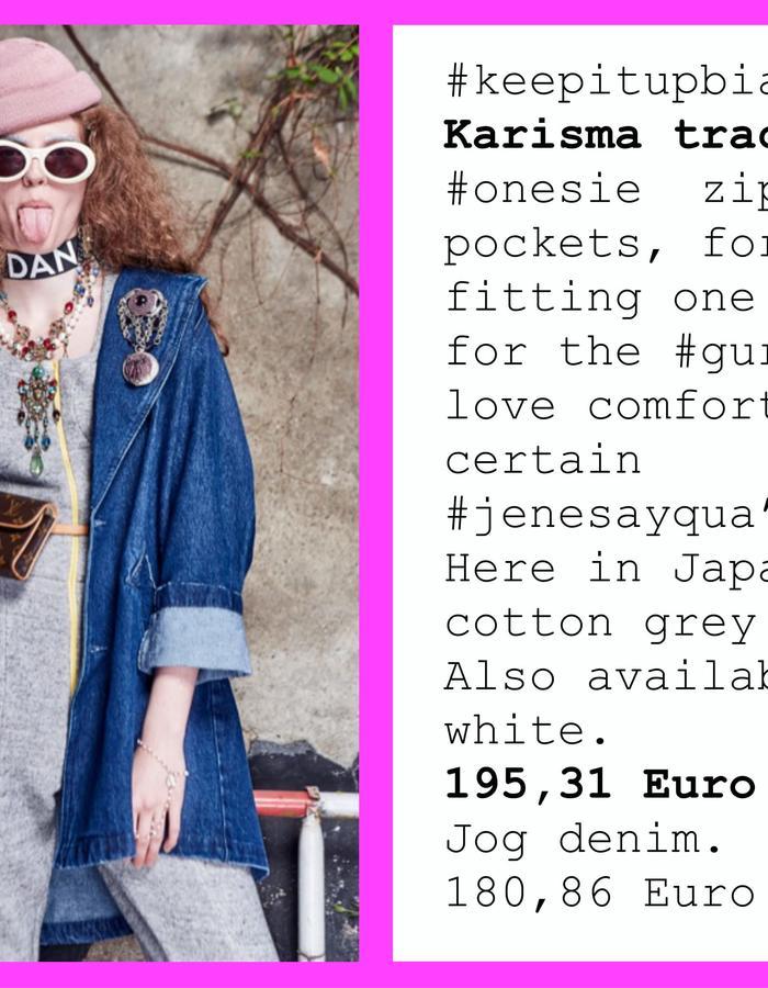 #karismatracksuit #keepitup