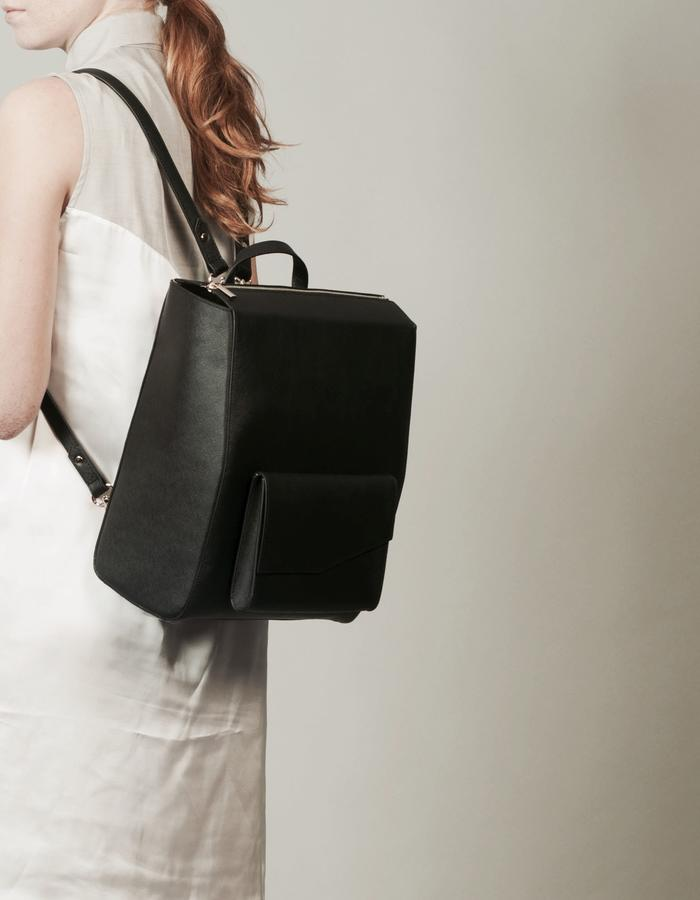 Isabel Wong x Urban Travel - Minimal Geometric Backpack