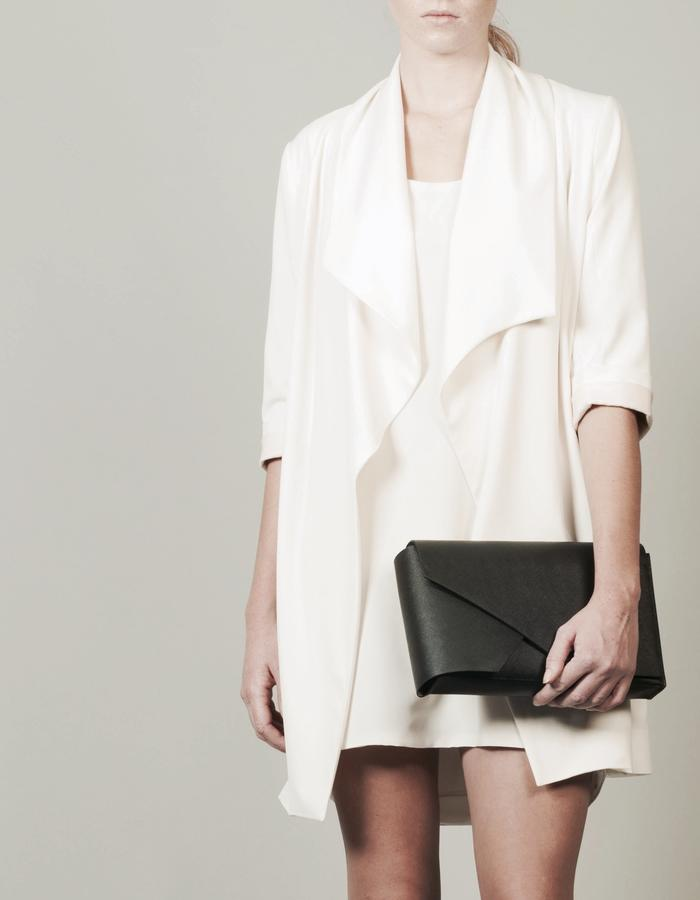 Isabel Wong x Urban Travel - Minimal Geometric Clutch Bag