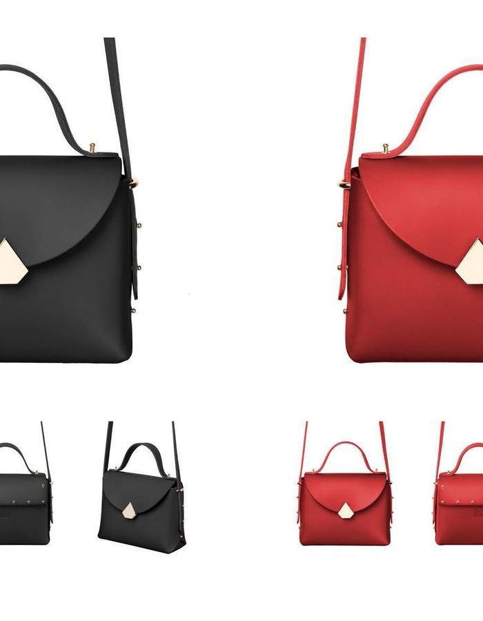 Baggy Bag Black & Red