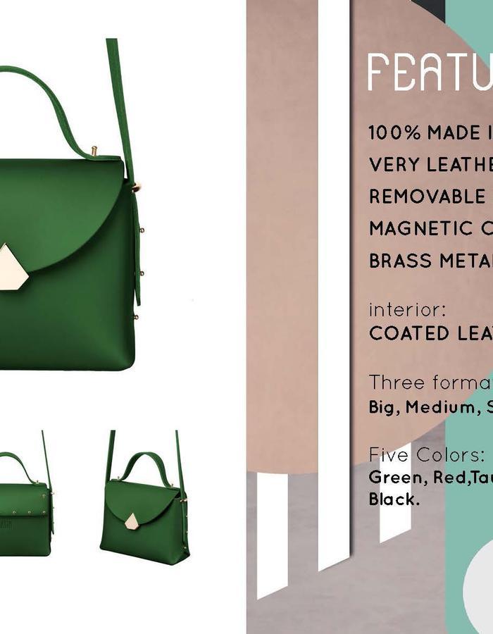Baggy Bag Green