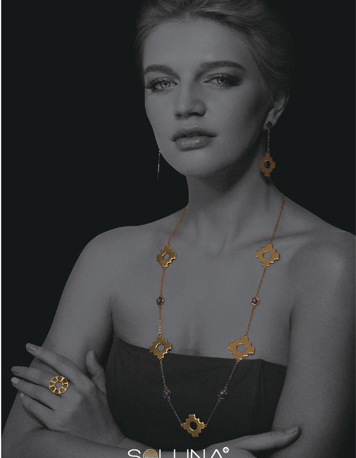 Soluna London, Soluna Jewellery, Inca Cross Collection
