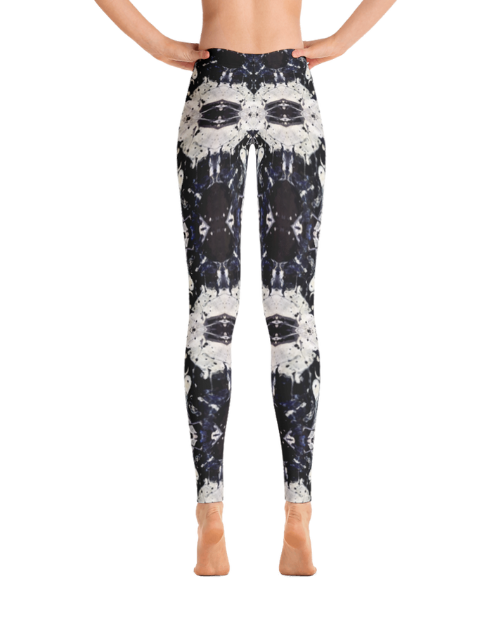 """No.1"" All-over printed leggings by I Jakob"