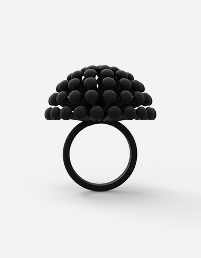 Dandelion Ring • Black