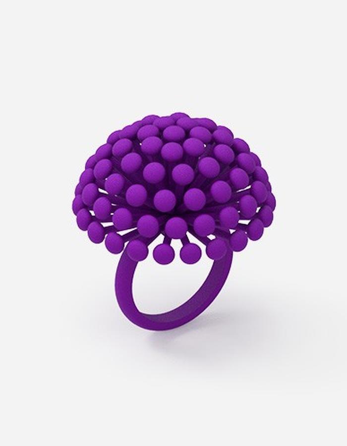 Dandelion Ring • Violet