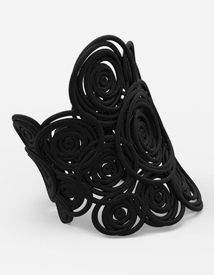HULA HOOP Bracelet BIG • Black