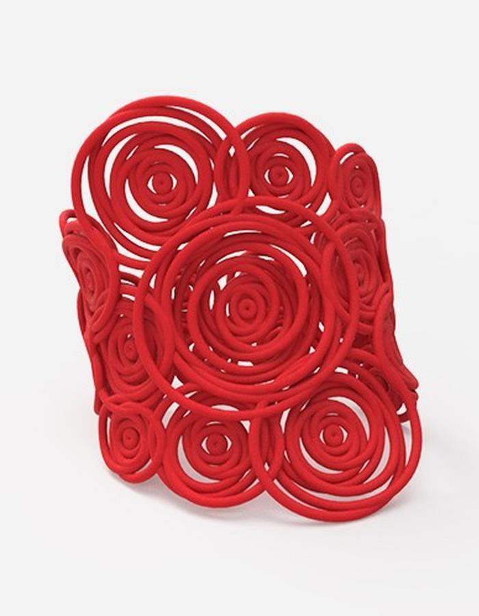 HULA HOOP Bracelet BIG • Red