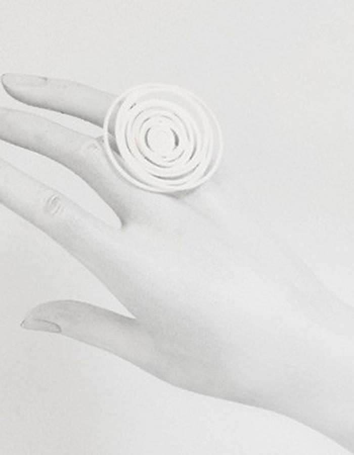 HULA HOOP White Ring • RARO Jewellery