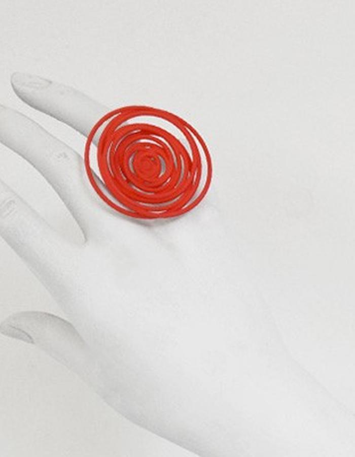 HULA HOOP Red Ring • RARO Jewellery