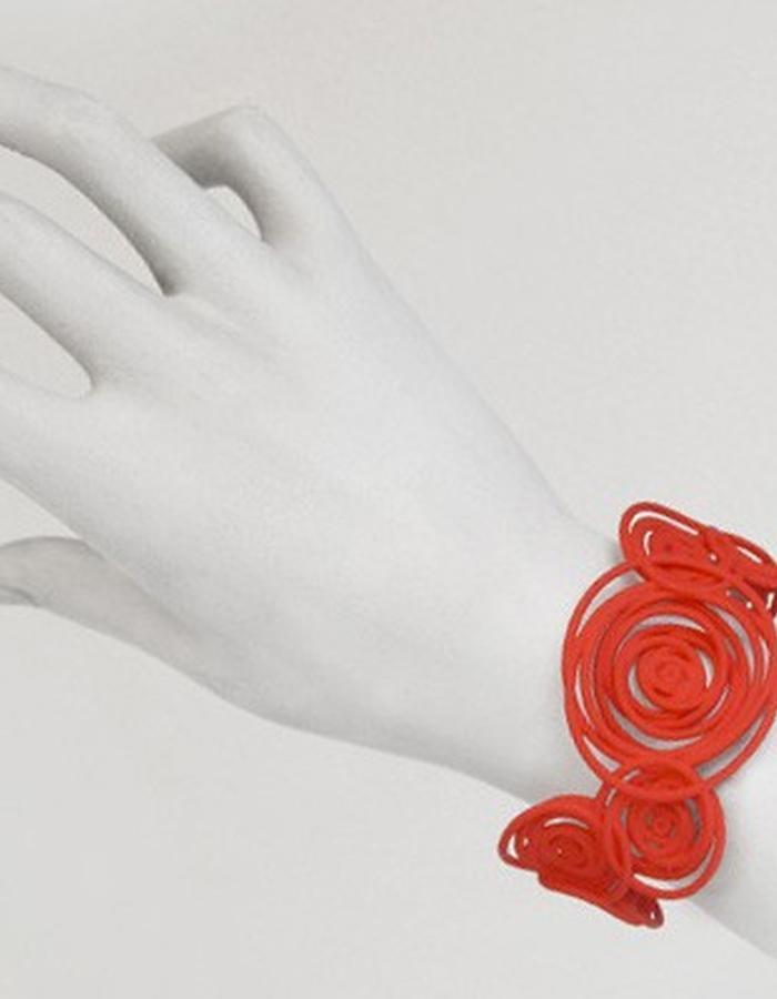 HULA HOOP Red Bracelet • RARO Jewellery