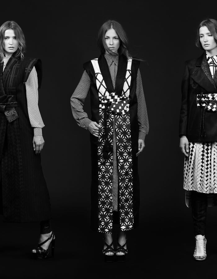 Susumu Ai Alisa Menkhaus collection 2017 A/W Fashion Label Berlin based
